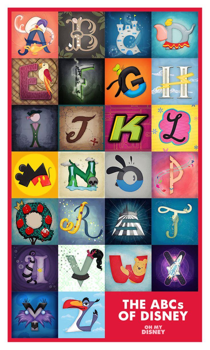 The ABCs of Disney