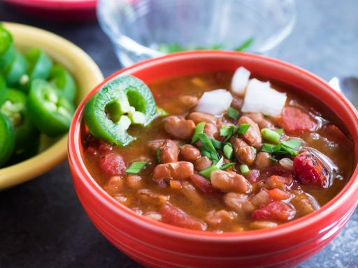 Pressure Cooker Southwestern Pinto Bean Soup