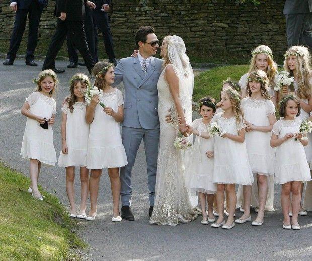 Kate Moss wedding ... flower girl dresses by Bonpoint ParisLittle Girls, Flower Girls Dresses, Wedding, Moss Wedding, Wedding Flower Girls, Bridesmaid, Boho, White Dresses, Kate Moss