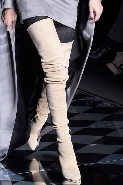 Balmain, Fall 2016 - You Have to See These Fall '16 Runway Shoes - Photos