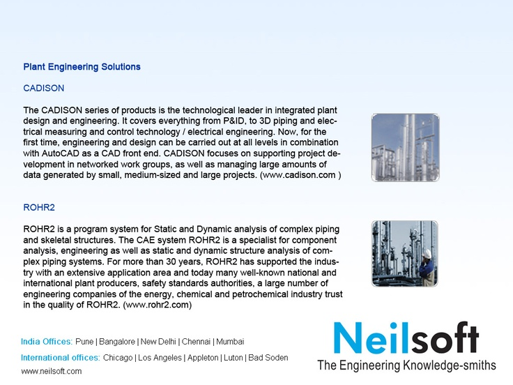 Plant Engieering Solutions at Neilsoft
