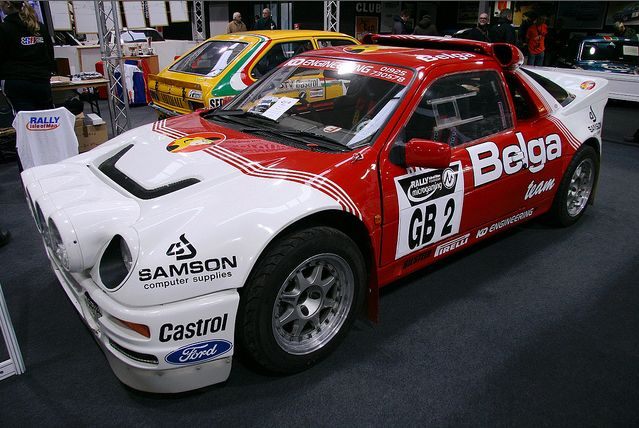Ford Racing Rally Cars