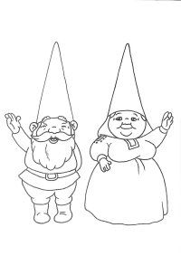 david the gnome coloring pages | david el gnomo Colouring Pages (page 3)