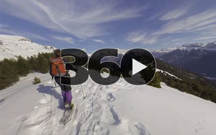 360 video: Pineta Pyrenee mountain © Ignacio Ferrando - Abaco Digital