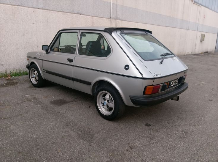 Fiat 127 Sport 1050. | Padova (I), October 2017.