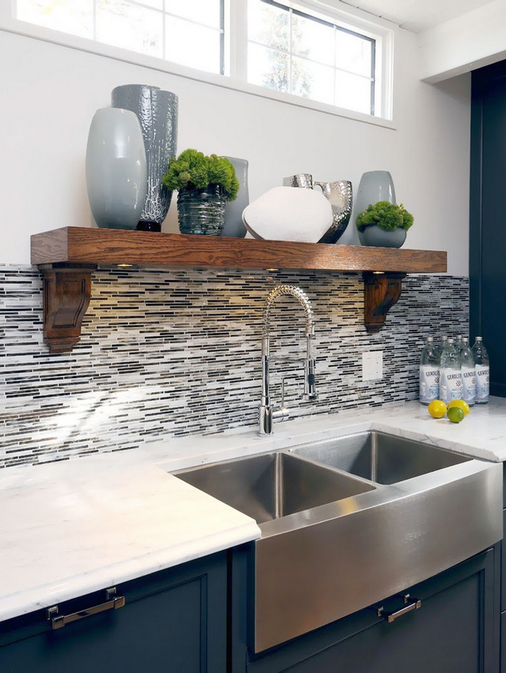 83 best Kitchen Sinks and Faucets images on Pinterest   Kitchen ...