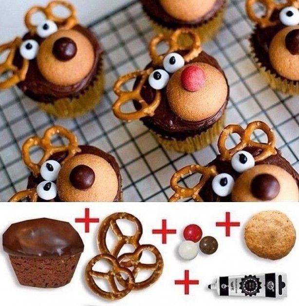 Super cute cupcakes voor de kerst