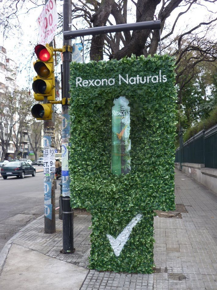 Argentina's got its own creative people. Rexona Natural's campaign.