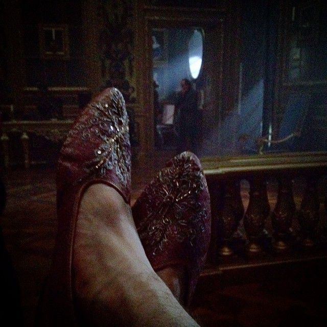 The king's slippers..... #Versailles