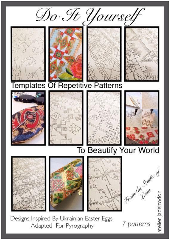 DIY e-book designs/ Templates of repetitive by atelierJADELZODOR