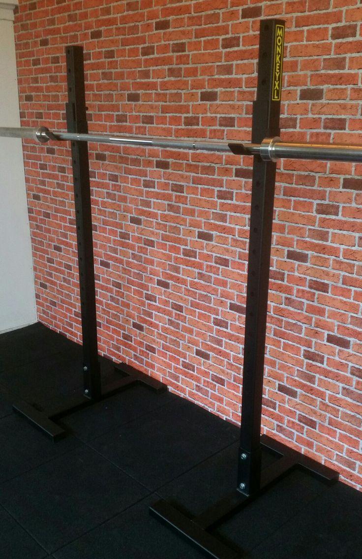 Vrij staand squat rek
