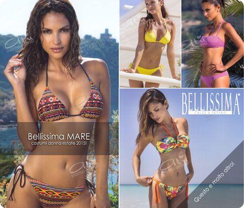 Costumi mare Bellissima. Bikini e costumi da bagno freschi e luminosi. #costumimare #costumidabagno #bikini #bellissima http://www.atyintimoonline.it/165-costumi-da-bagno-donna
