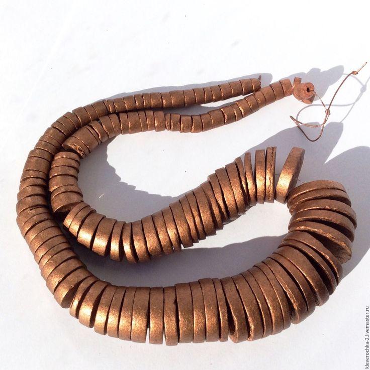 Купить Кокос нить для колье шайба рондель бусины для украшений - бусины деревянные купить