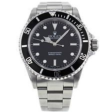 Rolex Submariner 40mm 14060 Stainless Steel Black Dial Men's Watch