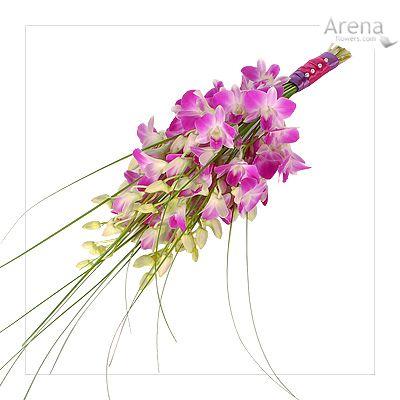 bridal bouquet orchids - Google Search