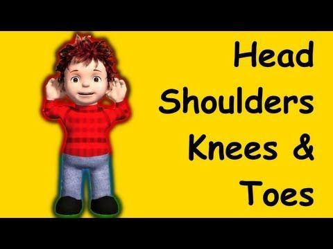 Muffin Songs - Head Shoulders Knees and Toes    nursery rhymes & children songs with lyrics