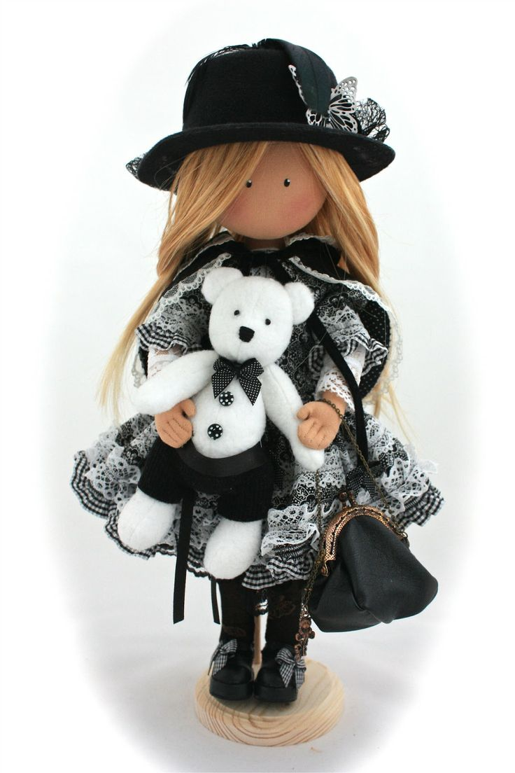 Doll toys images   best Dolls u toys images on Pinterest  Fabric dolls Toy and Dolls