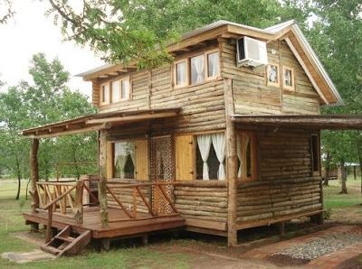 Fotos de Cabañas Rusticas | Arquitectura de Casas: Cabañas de troncos para vacacionar.
