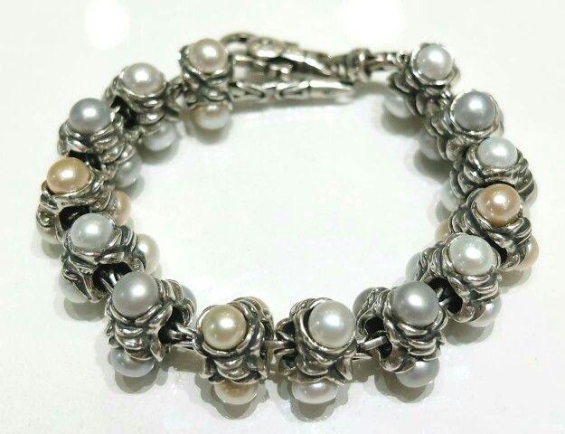 Tripla perla Tedora da 27 euro l'una,  compatibile con trollbeads, ohm beads, redbalifrog, pandora ecc ecc Facebook: pianeta beads https://m.facebook.com/story.php?story_fbid=1106724452694824&id=100000718386973