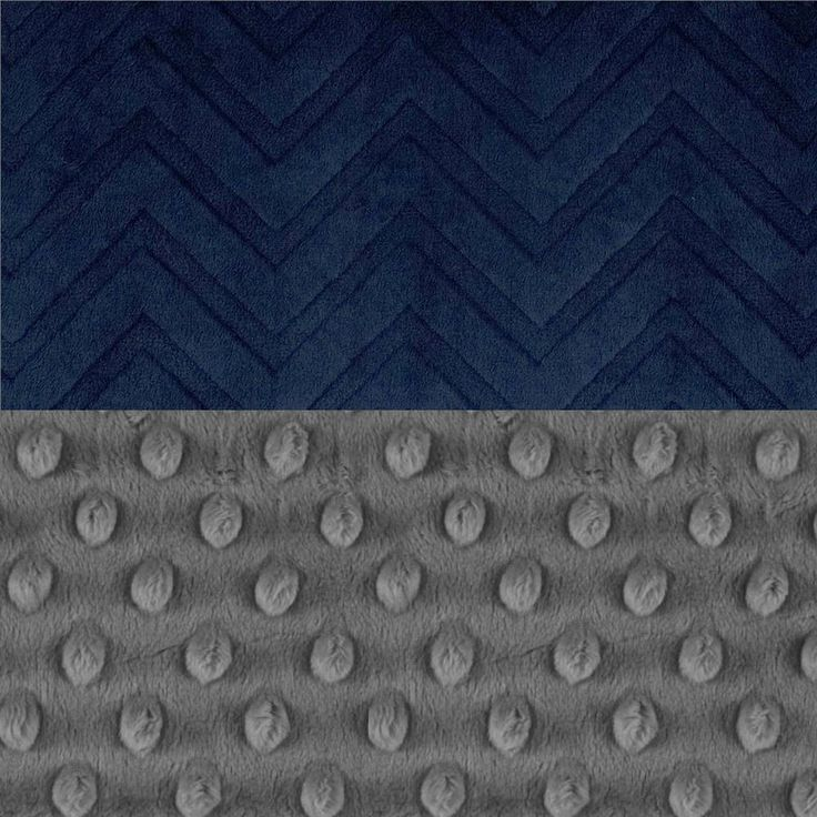 48 x 60 Toddler Blanket / Navy Chevron Minky Baby Blanket Personalized Blue Gray Toddler Size / Blue Throw Blanket / Blue Baby Blanket by Sewingdreamsnotions on Etsy