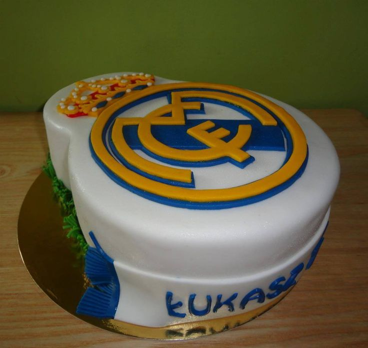 Tort Real Madryt/ Real Madrid Cake