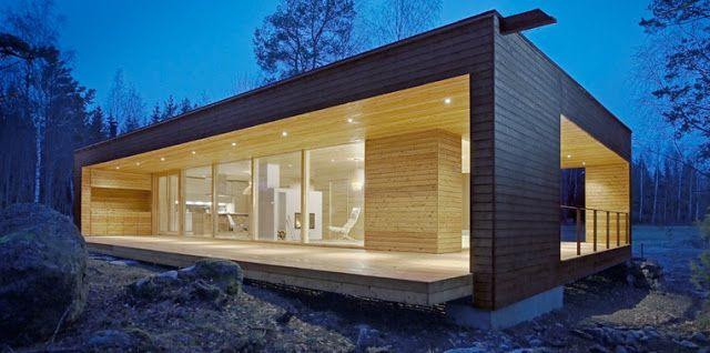 Casas prefabricadas de madera|Espacios en madera