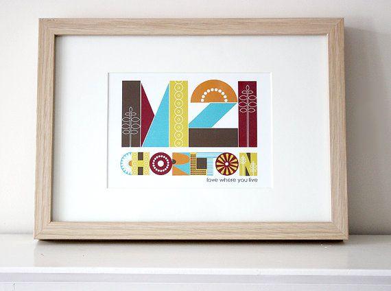M21 Chorlton Print