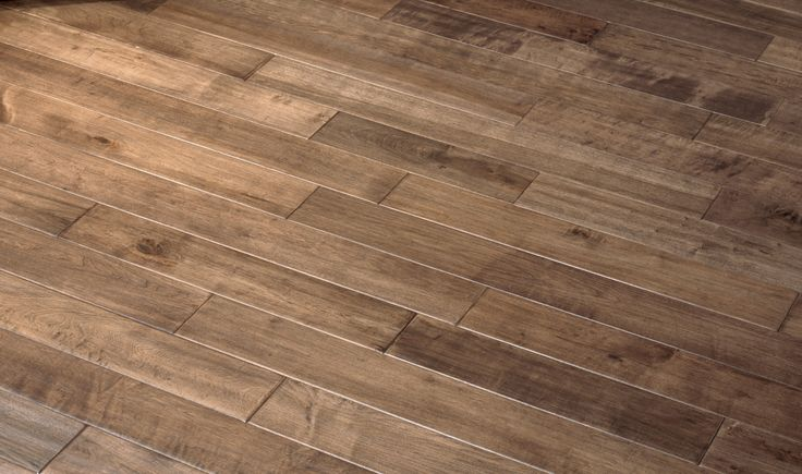 Antique - Medium Brown Hardwood Floors, Maple Hardwood Flooring