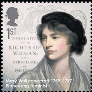 """Mary Wollstonecraft wrote the most significant book in the early feminist movement. Her tract """"A Vindication of the Rights of Women"""" laid down a clear moral and practical basis for extending human and political rights to women. – A true pioneer in the struggle for female suffrage."""