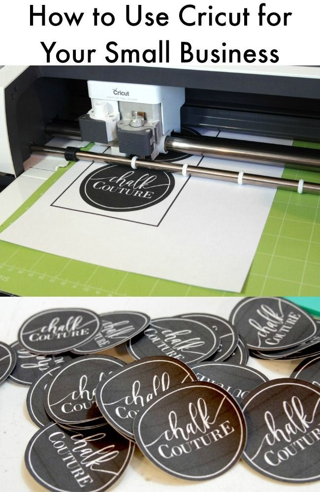 Using Cricut for Branding Your Small Business | Cricket and