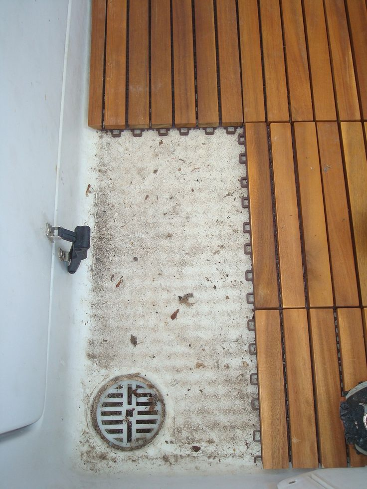 DIY Teak Tile Flooring: Use Teak tiles to refresh an old deck or floor!  http://www.teakwoodcentral.com/le-click-teak-flooring