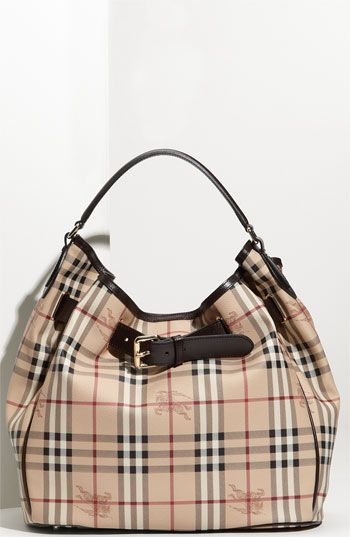 Got it at Nordstrom Rack today for 399.00!!!     Burberry 'Haymarket Check' Hobo available at #Nordstrom