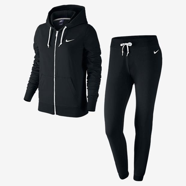 Agasalho Nike Jersey Cuffed Tracksuit Feminino   Nike