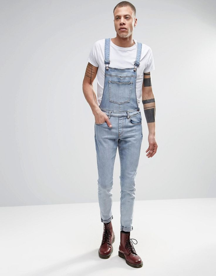 Overalls + Coveralls. You're one and done with our collection of men's overalls and coveralls. Shop checkered and embroidered overalls for men or go old school with a classic denim pair.