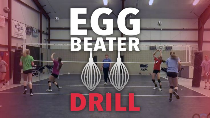'Egg beater' passing and conditioning drill