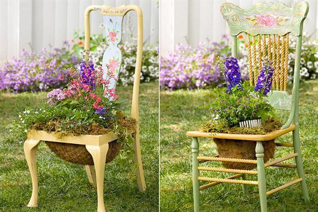 Propuestas caseras para decorar tu jard n tes for Antorchas para jardin caseras