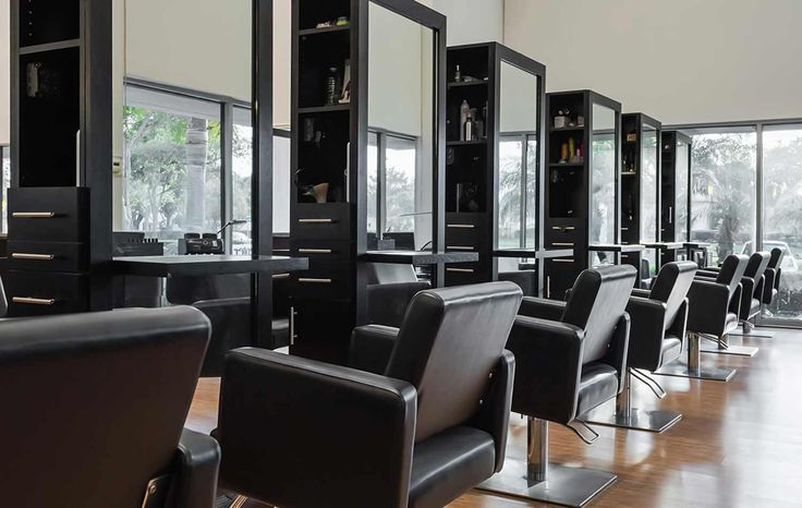 Hair Styling Station: 8 Best Completed Hair Salon Design Ideas Images On