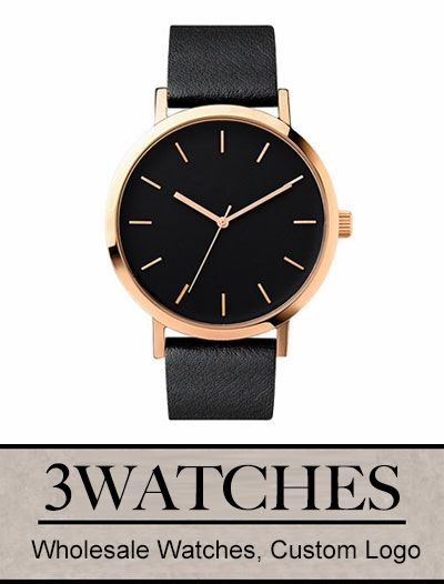 Thehorse Wholesale Watches. Welcome to Custom Logo. Rose Gold/Black Face/Black Leather. Visiting: http://www.3watches.com/horse-watch/