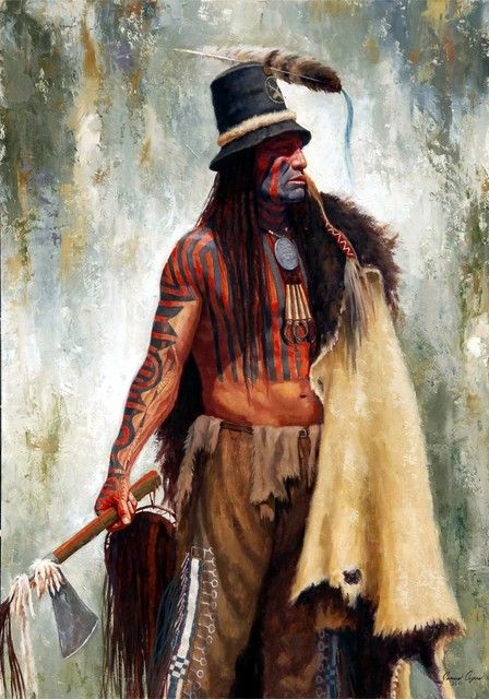 Addih Hiddish Hidatsa Chief ~ by James Ayers