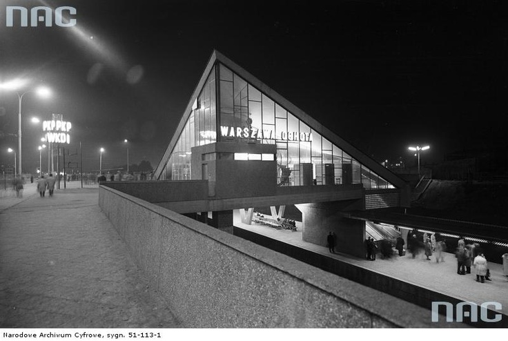 'Warszawa Ochota' Railway Station, 1963