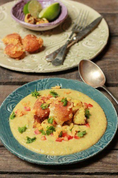 Curry-s sültkarfiol főzelék sajtgolyókkal | Rizsázzunk!