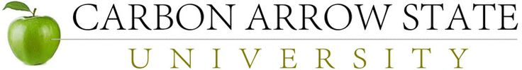 carbon arrow university logo