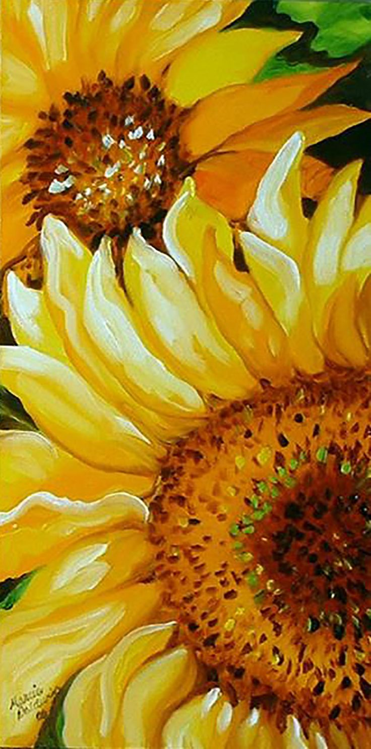 """Sunflower Day"" par Marcia Baldwin"