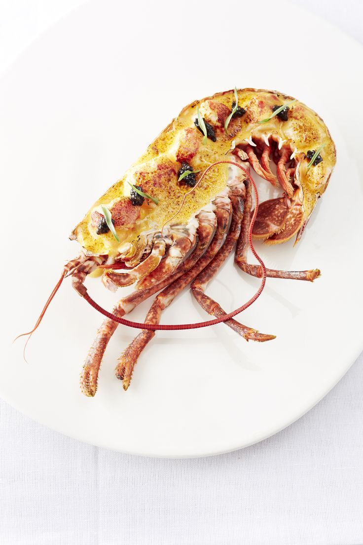 Lobster and caviar gratin served in the shell by Will Holland: