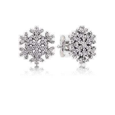 Snowflake, Clear CZ - 290589CZ