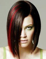 Red streaks!