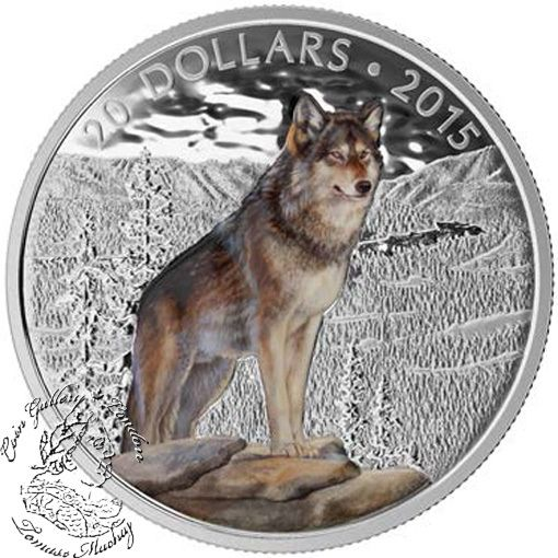 Coin Gallery London Store - Canada: 2015 $20 Imposing Alpha Wolf Silver Coin, $99.95 (http://www.coingallerylondon.com/canada-2015-20-imposing-alpha-wolf-silver-coin/)