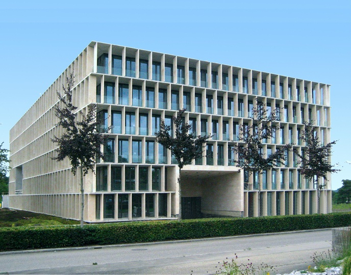 Zurich ETH Hönggerberg. Science Lab by Baumschlager Eberle 2007