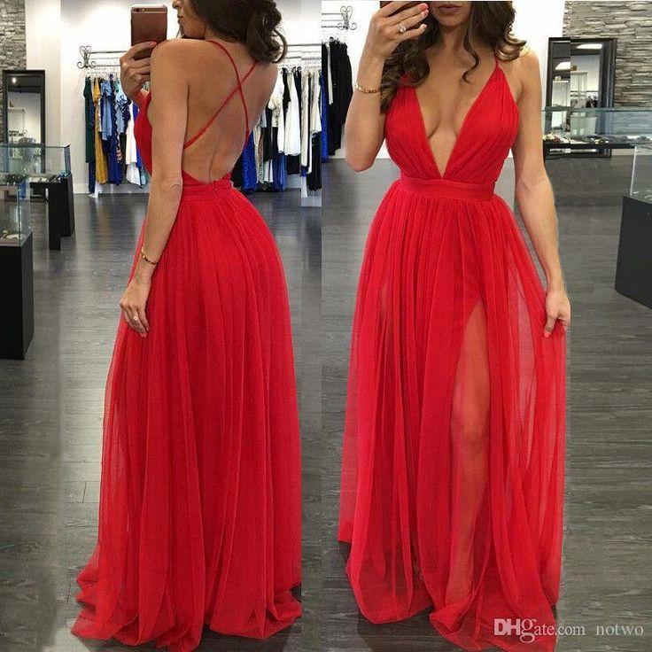 Super low cut cocktail dress