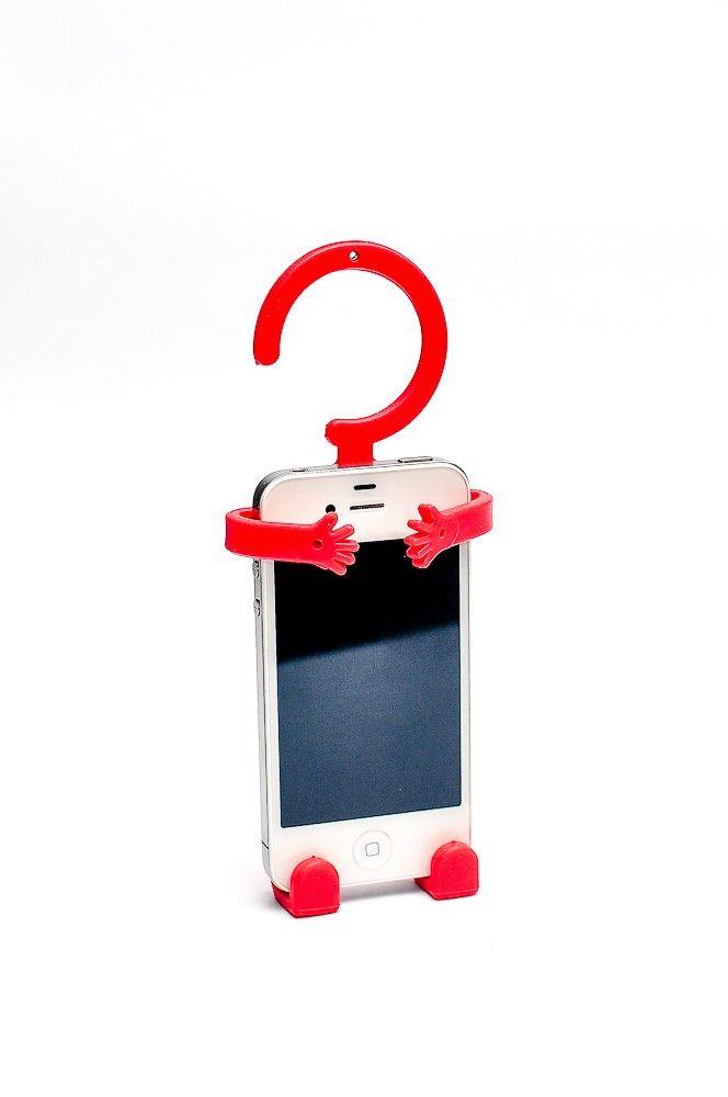 Hug Me Cellphone Holder Red RP 45.000